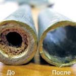 Гидропневматическая промывка системы отопления. Эффект.