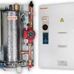 Отопление дома с помощью электрического котла