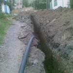 Прокладка водопровода в частном загородном доме, на даче