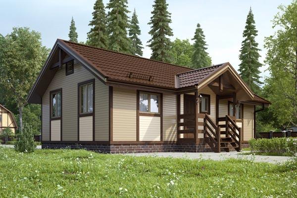 деревянные дачные строения